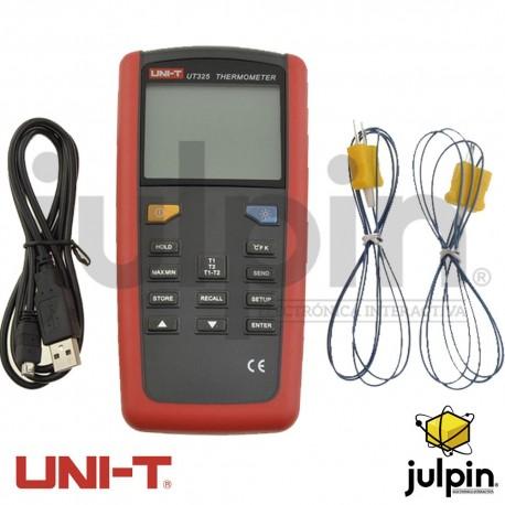 Termómetro de contacto marca UNI-T