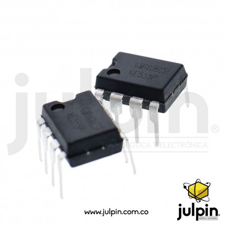 Chip generador de pulsos NE555