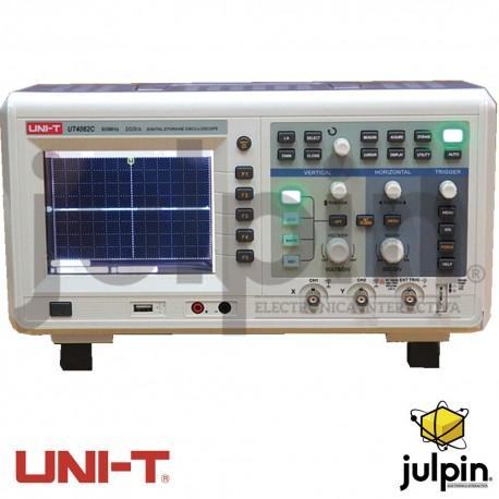 Osciloscopio digital. Serie UTD4062C