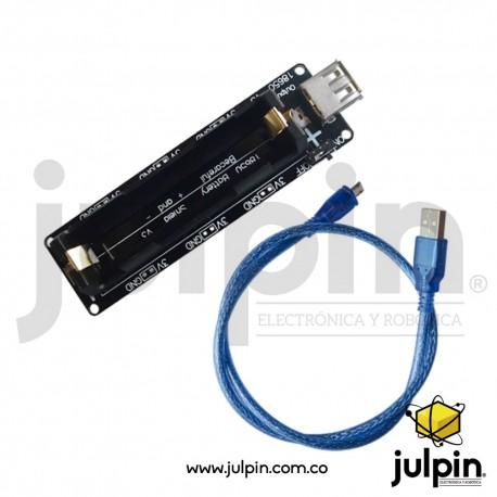 Cargador multipropósito para batería 18650