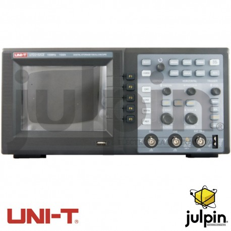 Osciloscopio digital. Serie UTD2152CE