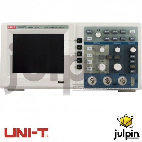 Osciloscopio digital. Serie UTD2202CE