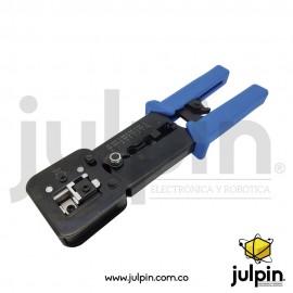 Ponchadora metálica para telefonía