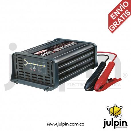 Cargador de baterías de 12V a 12A