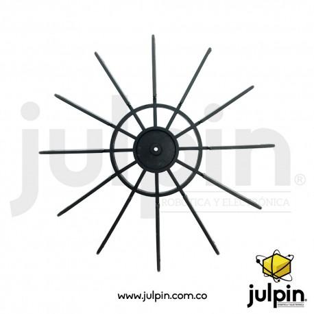Hélice o rueda de paletas de empuje
