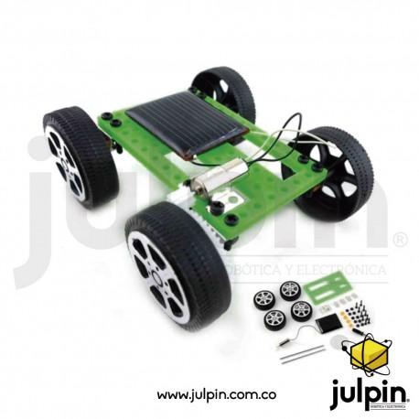 Kit Mini coche solar para armar