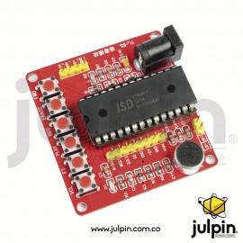 Módulo de grabación de voz ISD1760