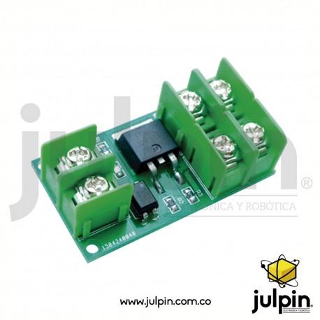 Módulo de control de CC MOSFET para motores o luces de alta potencia