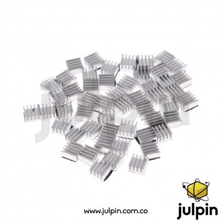 Disipador de calor para circuitos integrados