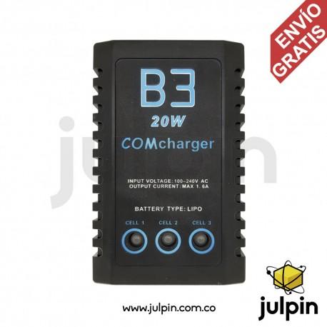Cargador balanceador para baterías LiPo