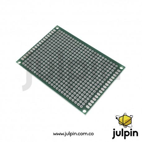 PCB universal de doble cara 5cm x 7cm