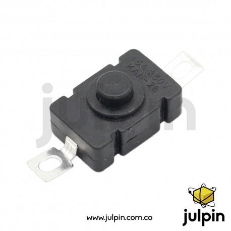 Interruptor auto-bloqueante para superficie