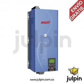 Inversor de baja frecuencia de 6KW a 48V. Fase dividida