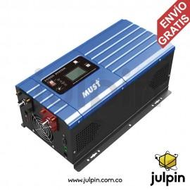 Inversor de baja frecuencia de 3KW a 24V. Salida 110V