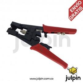 Ponchadora metálica para vídeo y audio