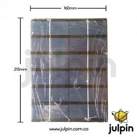 Panel solar de 6V a 800mA