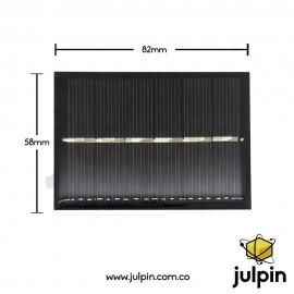 Panel solar de 3V a 200mA