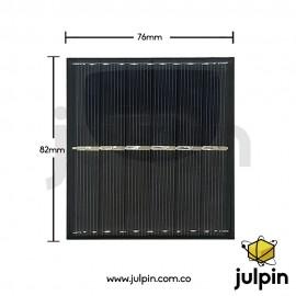 Panel solar de 3V a 300mA
