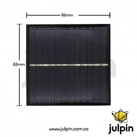 Panel solar de 6V a 150mA