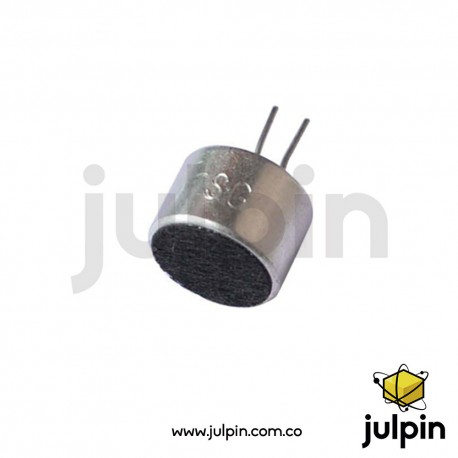 Micrófono electret con pines