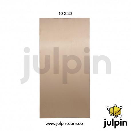Lámina de baquelita de 10cm x 20cm