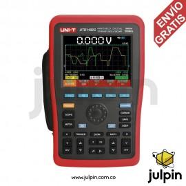 Osciloscopio portátil de 100Mhz y 2 canales. UTD1102C
