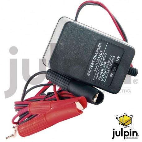 cargador de baterías secas o de moto.