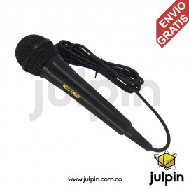 Micrófono periodístico para celulares