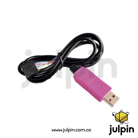 Convertidor PL2303HXD USB a TTL