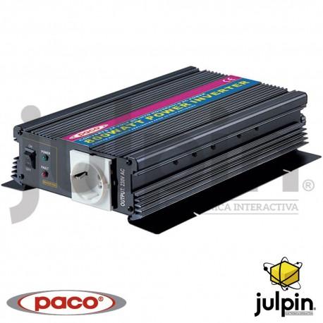 INVERSOR DE CORRIENTE DE 800 Watts de 24 voltios