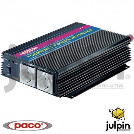 INVERSOR DE CORRIENTE DE 1000 Watts de 24 voltios