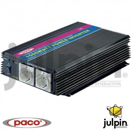 INVERSOR DE CORRIENTE DE 1500 Watts de 24 voltios