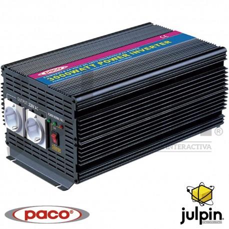 INVERSOR DE CORRIENTE DE 3000 Watts de 24 voltios