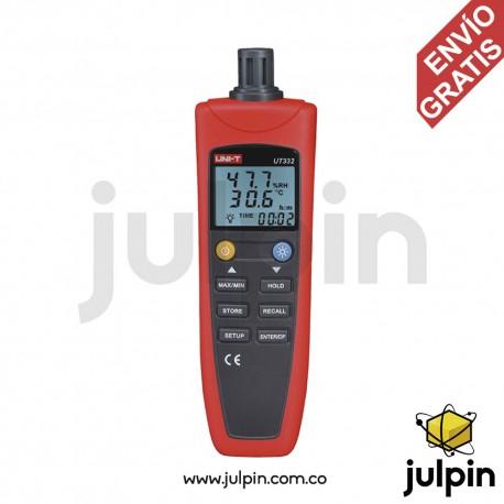 Medidor de temperatura y humedad.