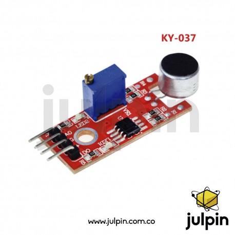 Sensor de sonido con micrófono de alta sensibilidad KY-037