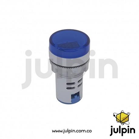 Voltímetro digital LED AC hasta 500V