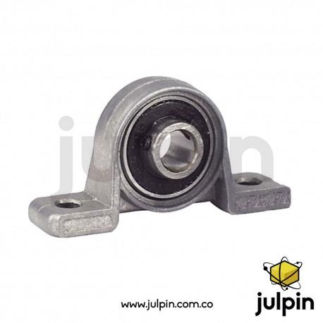 Soporte vertical de cojinete para tornillo de avance de 8mm