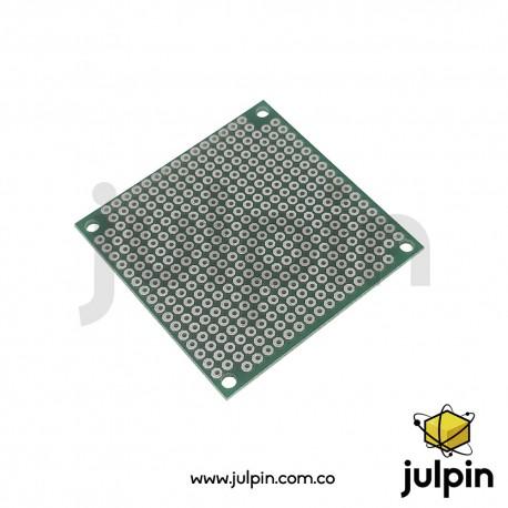 PCB universal de una sola cara 5cm x 5cm