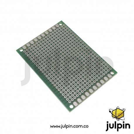 PCB universal de una sola cara 5cm x 7cm
