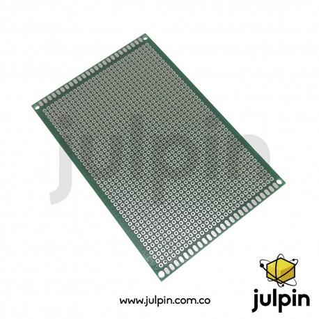 PCB universal de una sola cara 8cm x 12cm