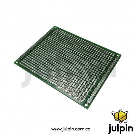 PCB universal de doble cara 7cm x 9cm