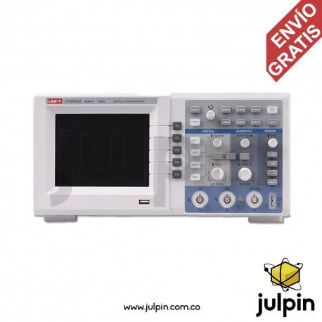 Osciloscopio digital. Serie UTD2062CE