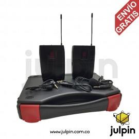 Kit de micrófono inalámbrico para celulares