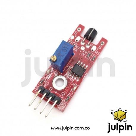 Módulo sensor táctil de metal KY-036