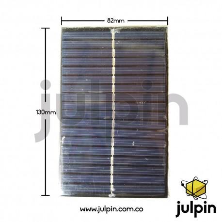 Panel solar de 9V a 150mA