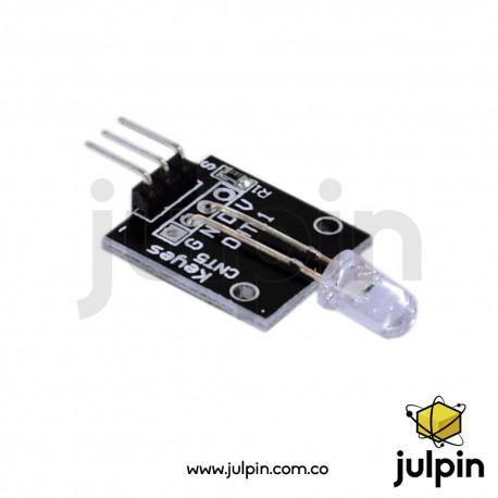 Módulo LED de flash de 7 colores KY-034