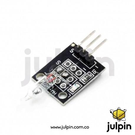 Sensor interruptor de inclinación de mercurio. KY-017