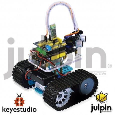 Kit Robot mini tanque para ensamblar