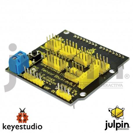 Escudo de sensores para tarjeta UNO R3