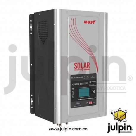 Inversor de corriente off grid de 12V y 2KW
